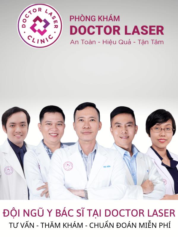 Đội ngũ bác sĩ tại Doctor Laser